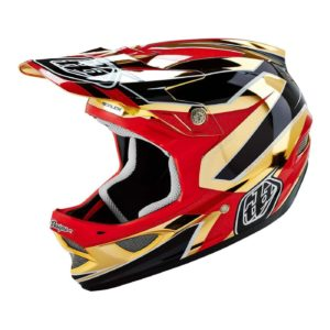 TLD HELMET D3 AS COMP REFLEX GOLD CHROME