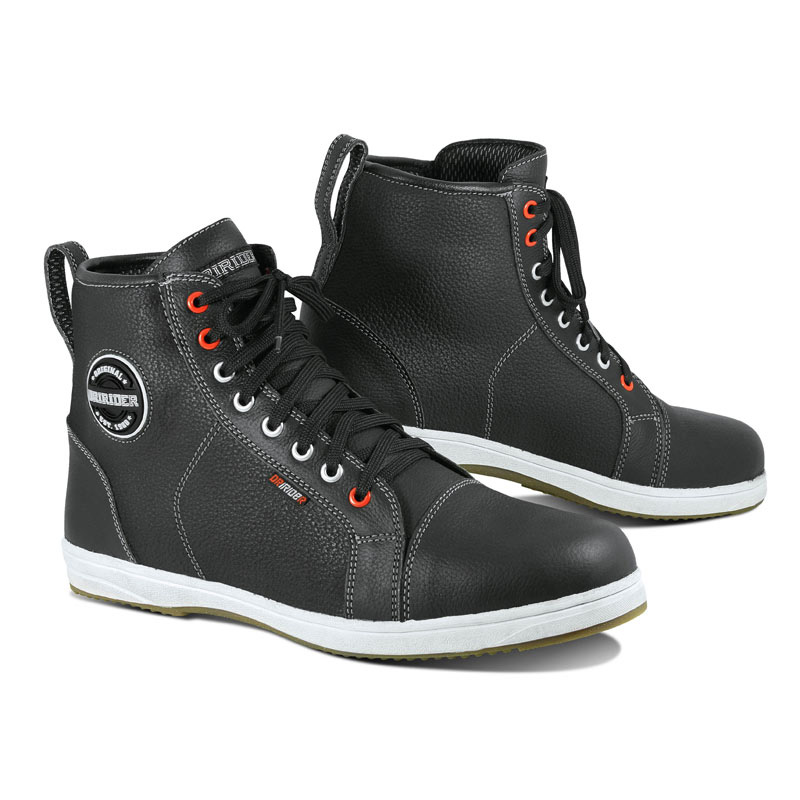 dririder-iRide-BOOT-blk-wht-leather-wilks-penny