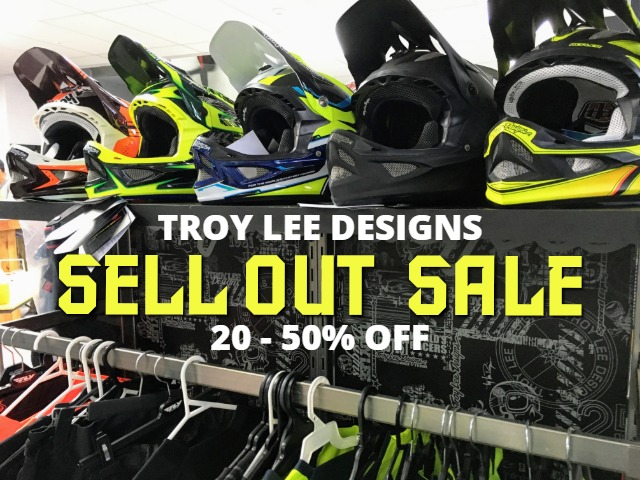 Troy Lee Products on sale