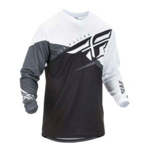 FLY F-16 JERSEY '19 BLK WHT GRY