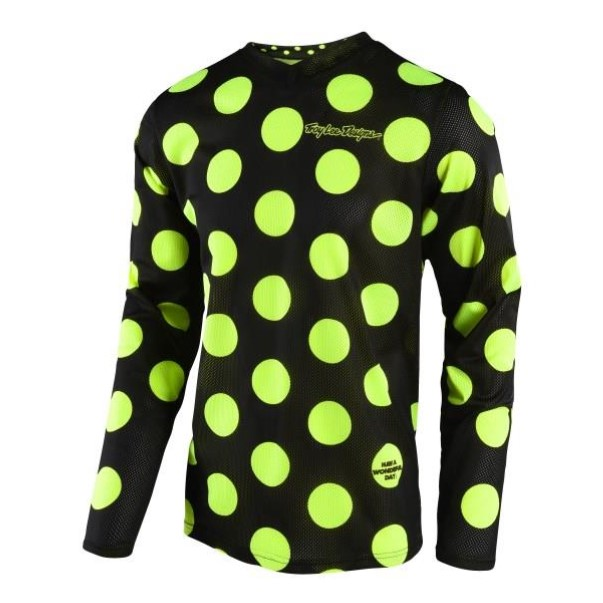 TLD JERSEY POKER DOT YELLOW