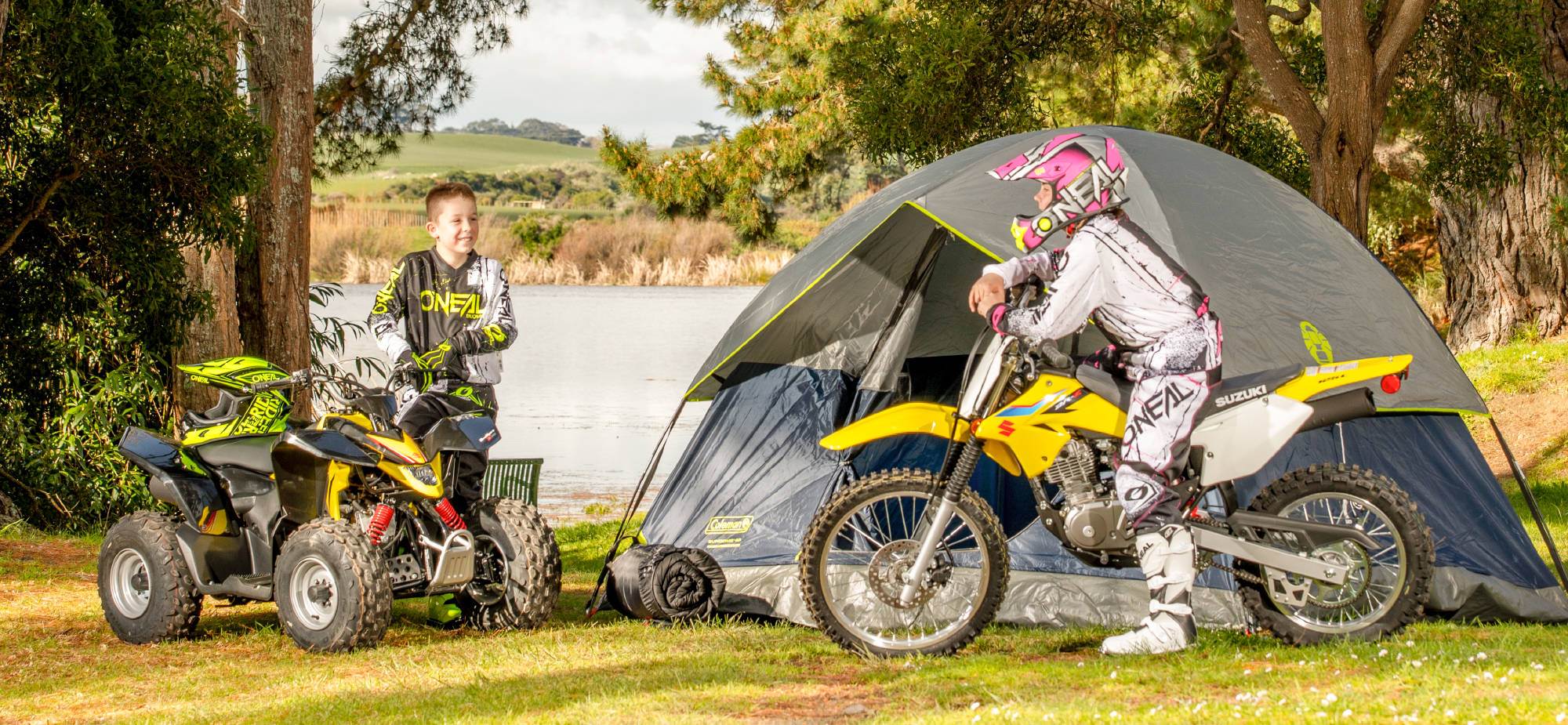 Suzuki Camping Deal Free Tent and Sleeping Bag