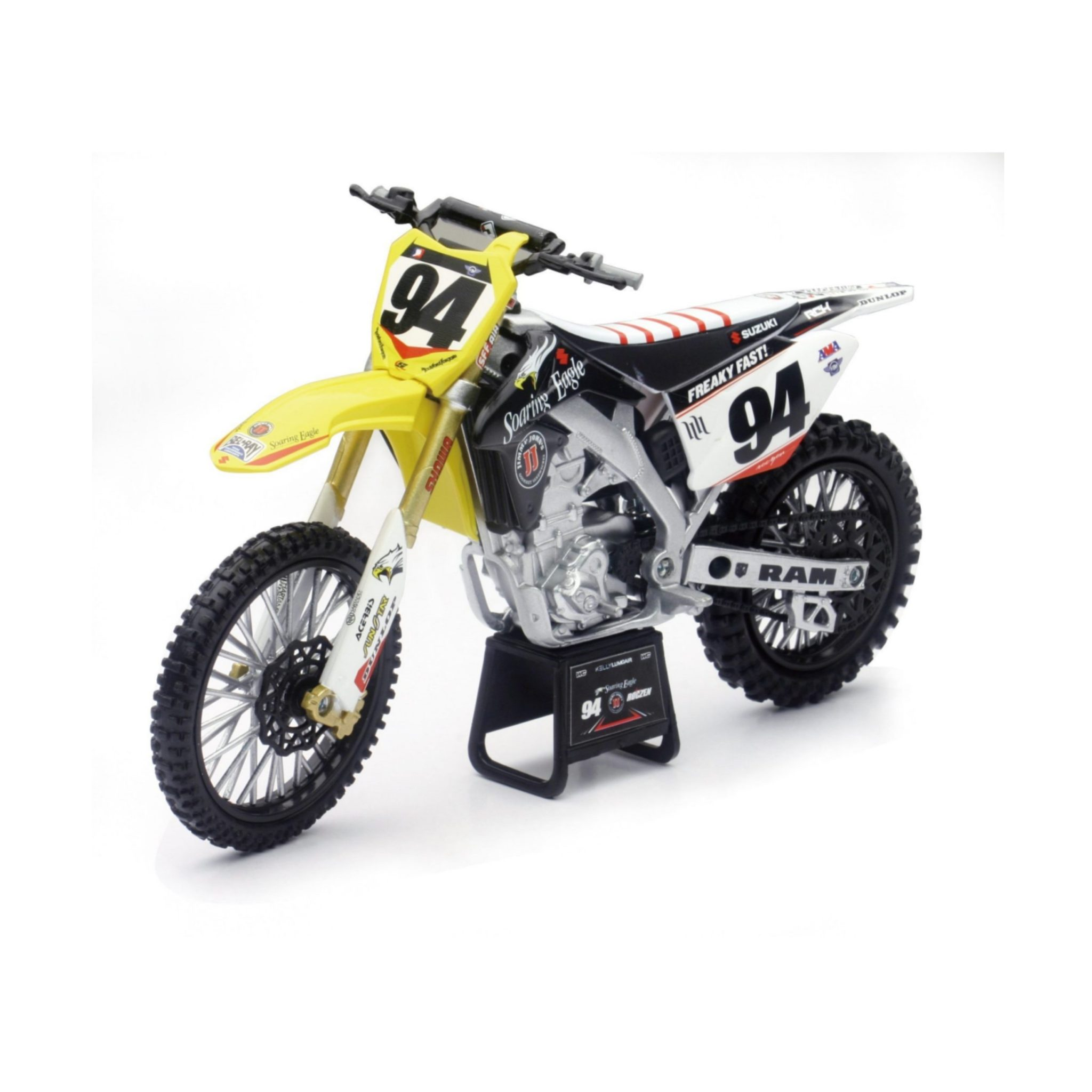 NEW RAY MODEL MX BIKE 1 TO 12 SCALE STD MODEL