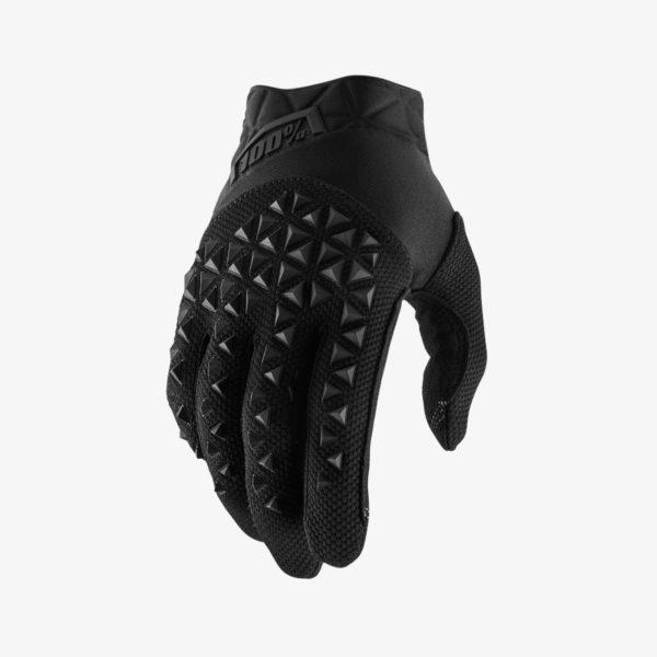 Black 100% branded Airmatic Motocross Glove