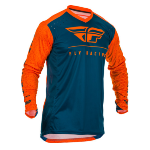 FLY 2020 SEASON F6 RACE JERSEY NEON ORANGE BLUE