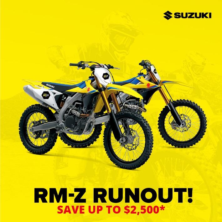 Suzuki RM-Z 250 Motorbike