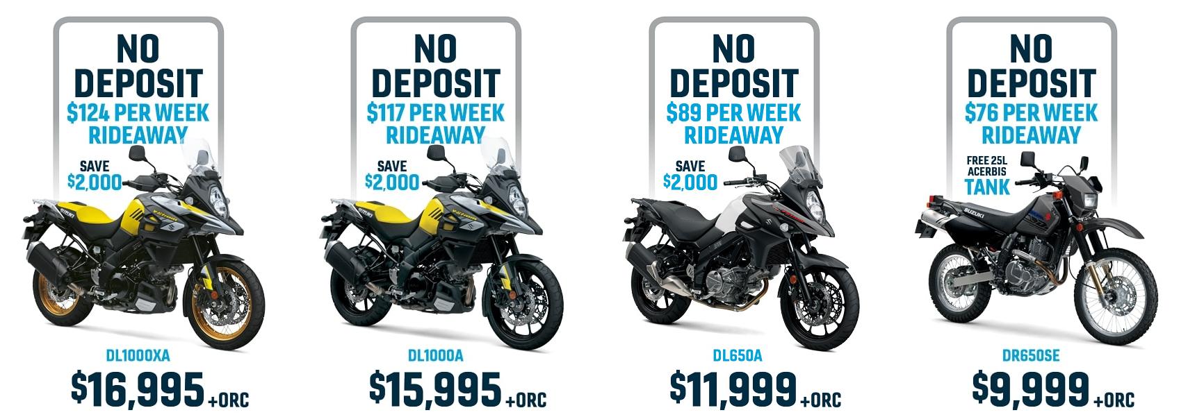 Suzuki Adventure Motorcycles