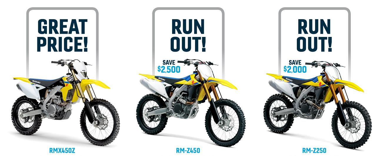 Suzuki offroad Motorcycle