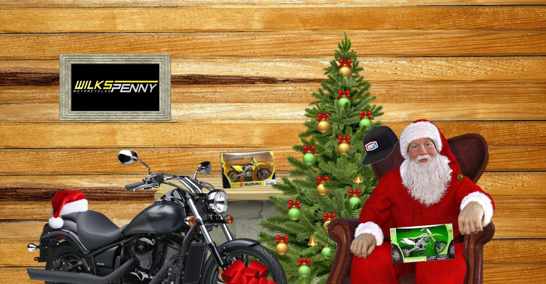 Santas Motorcycle Workshop