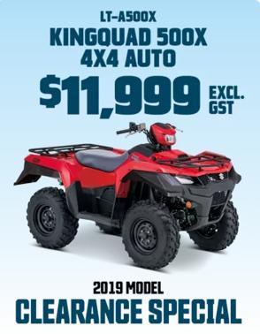 Kigquad LT-A50X Red Quad Motorbike
