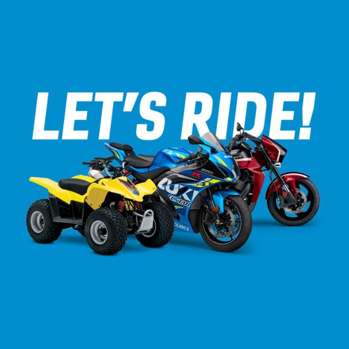 3 Suzuki Motorcycles