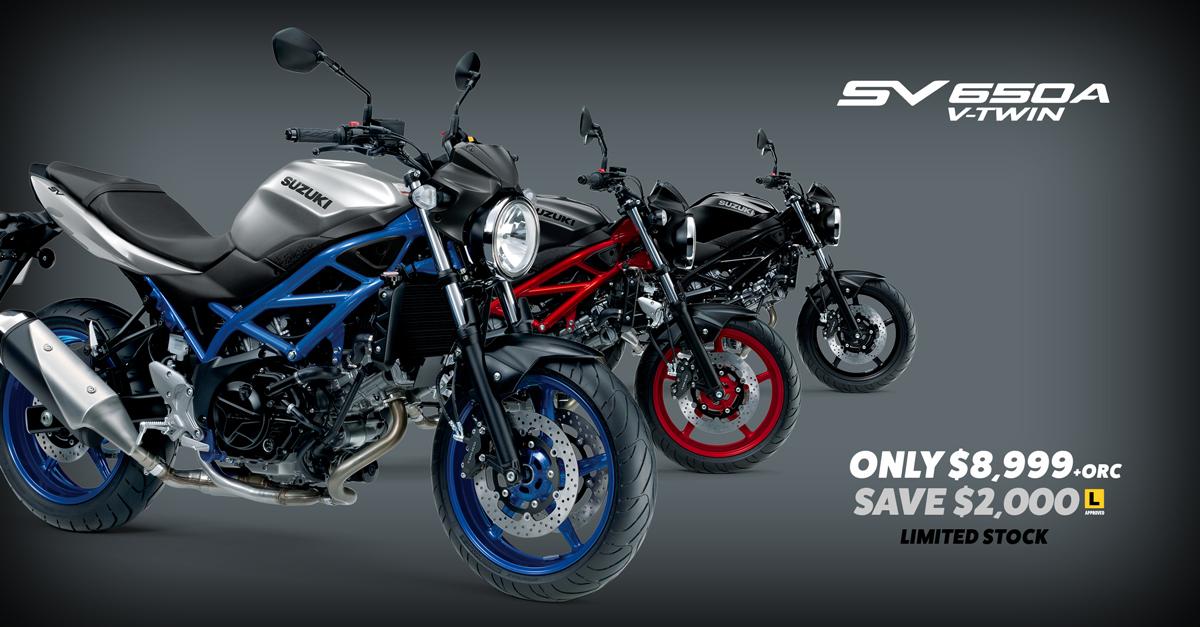 Suzuki SV650A Motorcycle