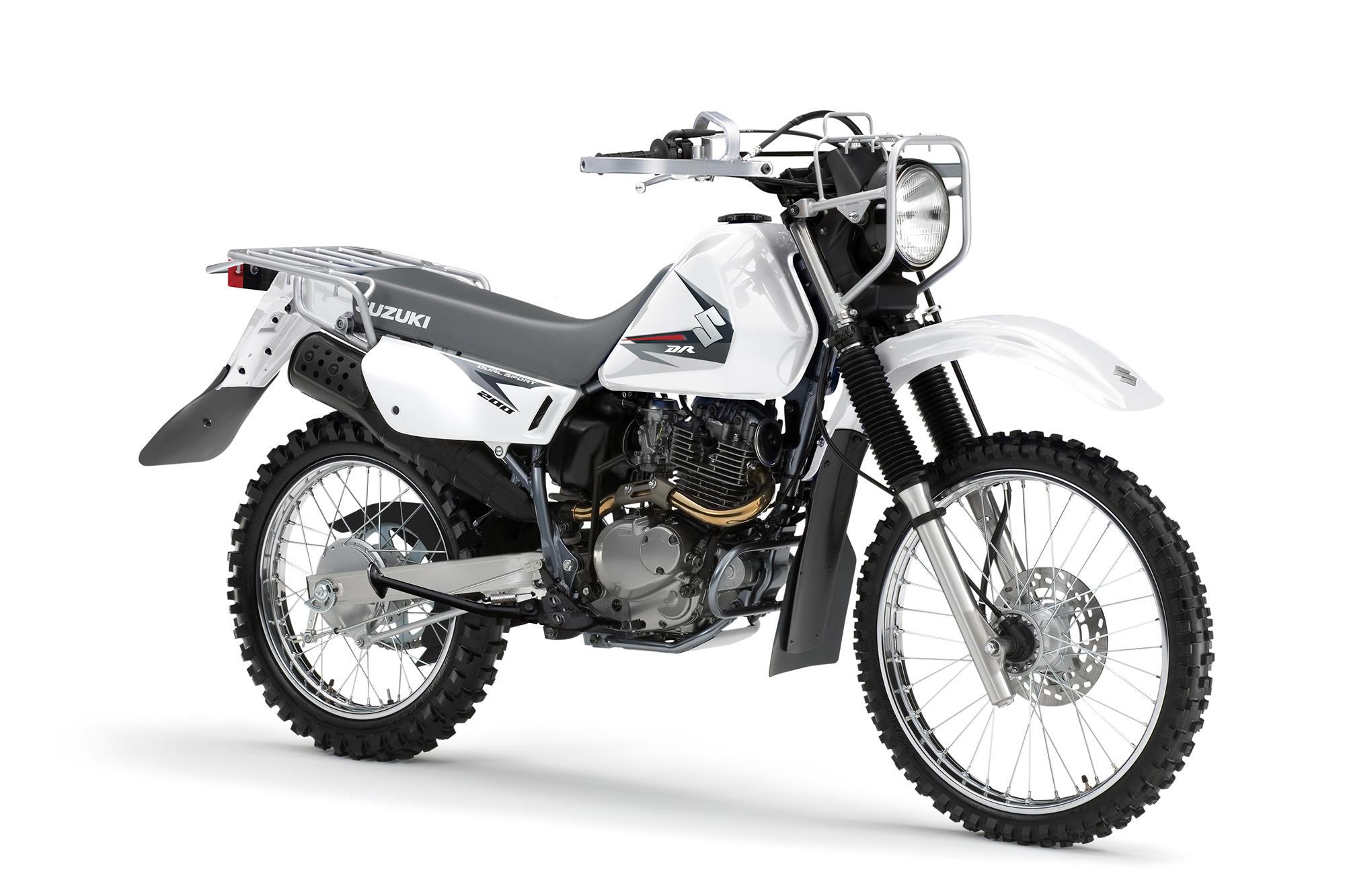 Suzuki DR200 Trojan Motorcycle