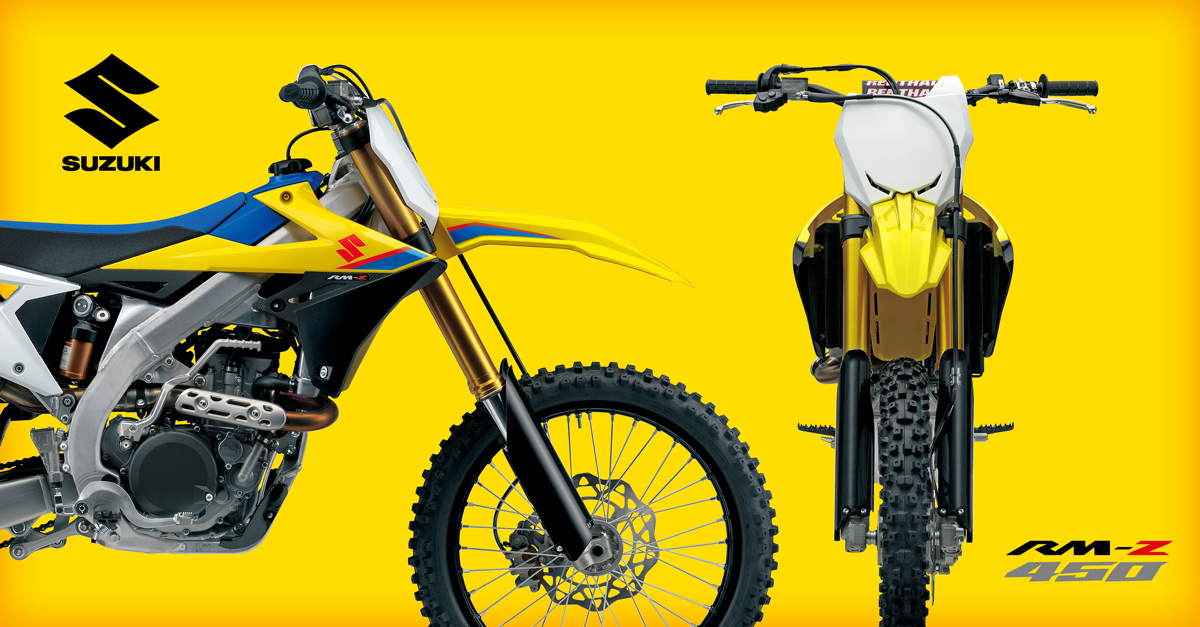 Suzuki RM-Z450 Motorcycle