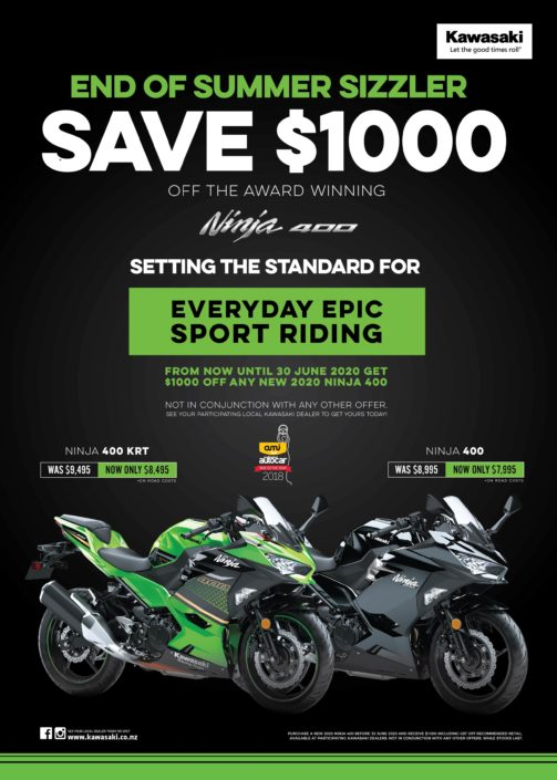 Nija 400 Motorcycle