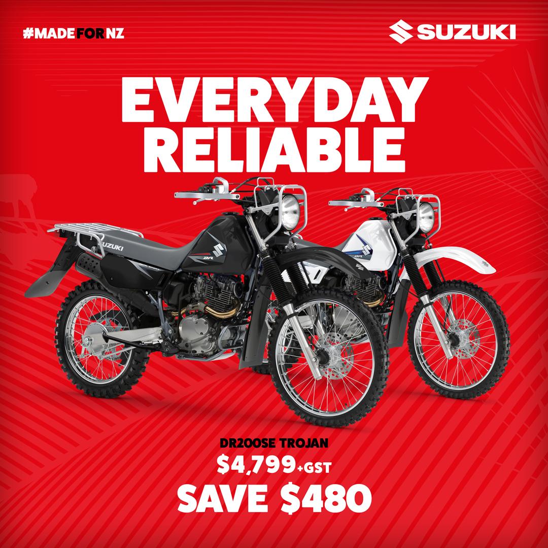 SUZUKI SZM0540 MOTORCYCLE WILKS PENNY
