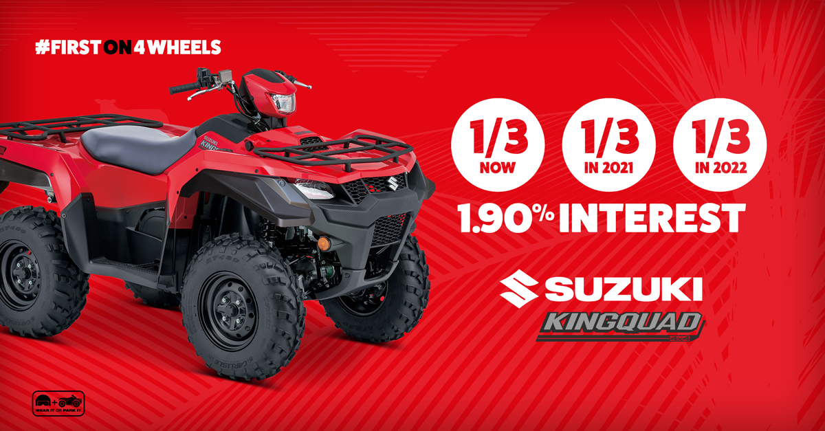 Suzuki King Quad Bike