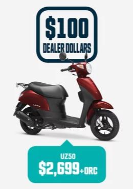 UZ50 Suzuki Bike