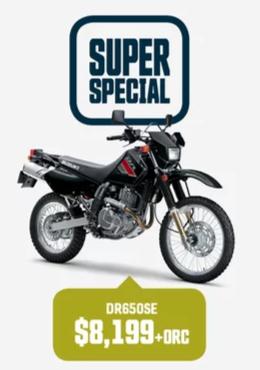 DR650SE Suzuki Bike