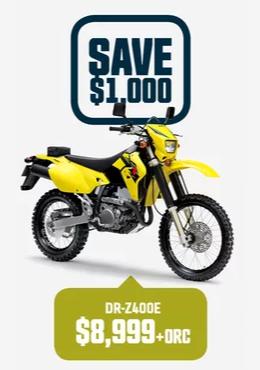 DR-Z400E Suzuki Bike