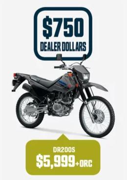 DR200S Suzuki Bike