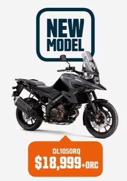 DL1050RQ Suzuki Bike