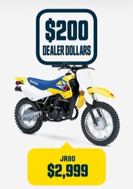 JR80 Suzuki Bike