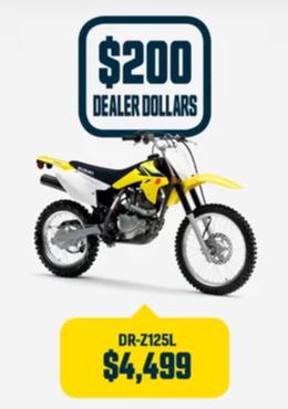 DR-Z125L Suzuki Bike
