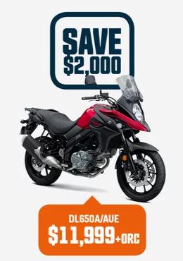 DL650A/AUE Suzuki Bike