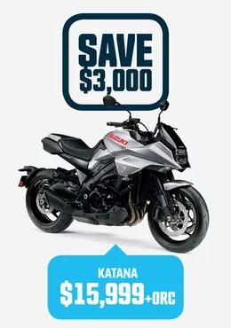 Katana Suzuki Bike
