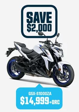 GSX-S1000ZA Suzuki Bike