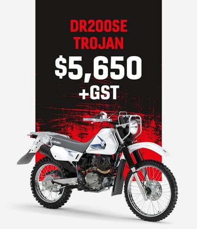 DR200SE trojan motorcycle