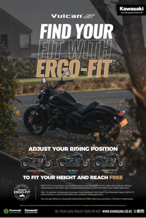Kawasaki Vulcan Motorcycle
