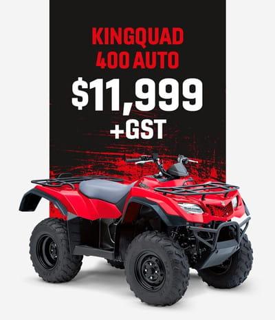 kingquad 400 auto motorcycle